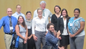 Students and faculty at the 2012 NCETA conference