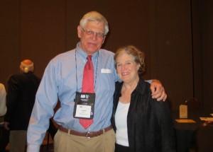 Joe and Lucy Milner at NCTE in Las Vegas, November 2012