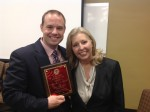Dr. Geoff Price with his advisor and dissertation chair at the University of Alabama.