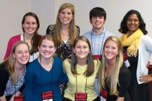 Mathematics Education Students at NCCTM 2011